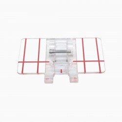 sewing machine accessories transparent parallel sewing presser Foot For Janome brother juki singer and so on