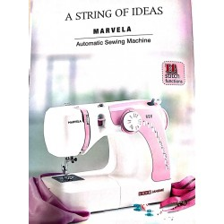 Usha Janome Marvela Pink With darning Plate