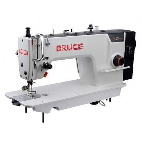 Automatic Bruce Q5 Single Needle Lockstitch Sewing Machine, Speed: 4000-5000 stitch/min