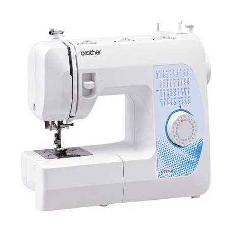 Brother GS3710 Electric Home Sewing Machine, Multicolour