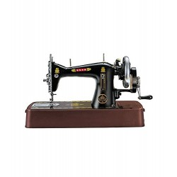 Usha Tailor Deluxe Sewing Machine (Black)