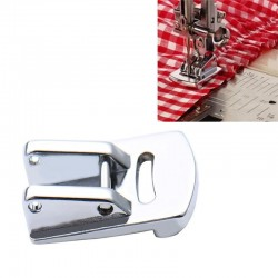 Double Gathering Snap On Presser Foot For All Type Automatic Domestic Sewing Machine USHA|BROTHER|SINGER etc