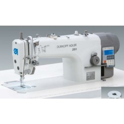 DURKOPP ADLER DA 261 SINGLE NEEDLE LOCKSTITCH MACHINE WITH SMALL HOOK AND AUTOMATIC FUNCTIONS