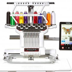 BROTHER  PR1050 X Entrepreneur [10-Needle Home Embroidery Machine]