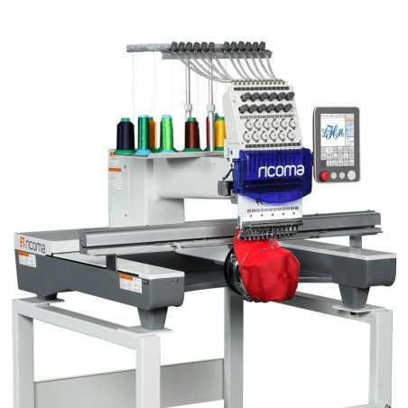 Ricoma SWD-1201-8s & Ricoma SWD-1501-8s Single Head Commercial Computerized Embroidery Machine
