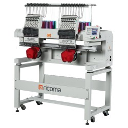 Ricoma MT SERIES (TWO-HEAD) Two-head commercial embroidery machine