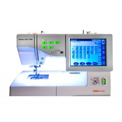 Usha Memory Craft 11000 Embroidery & Sewing Machine