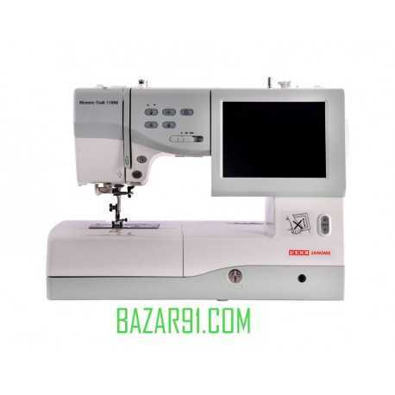 Usha Memory Craft 11000 Embroidery & Sewing Machine