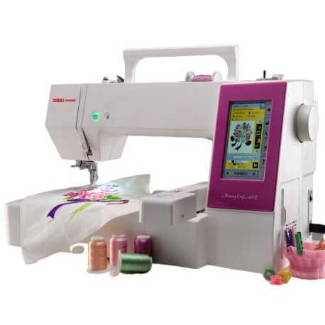 Usha Janome Memory Craft 450E With Digitizer JR