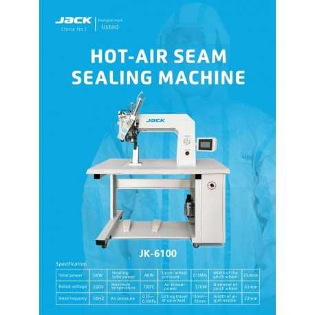 Jack  JK- 6100 Hot Air Seam Sealing Machine
