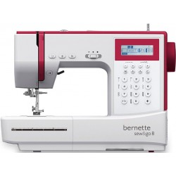 Bernette sew&go computerised sewing machine inbuild 197 stitches
