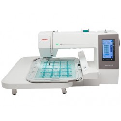 Usha Janome Memory Craft 550E Embroidery Machine 9/14 Inch Frame Area