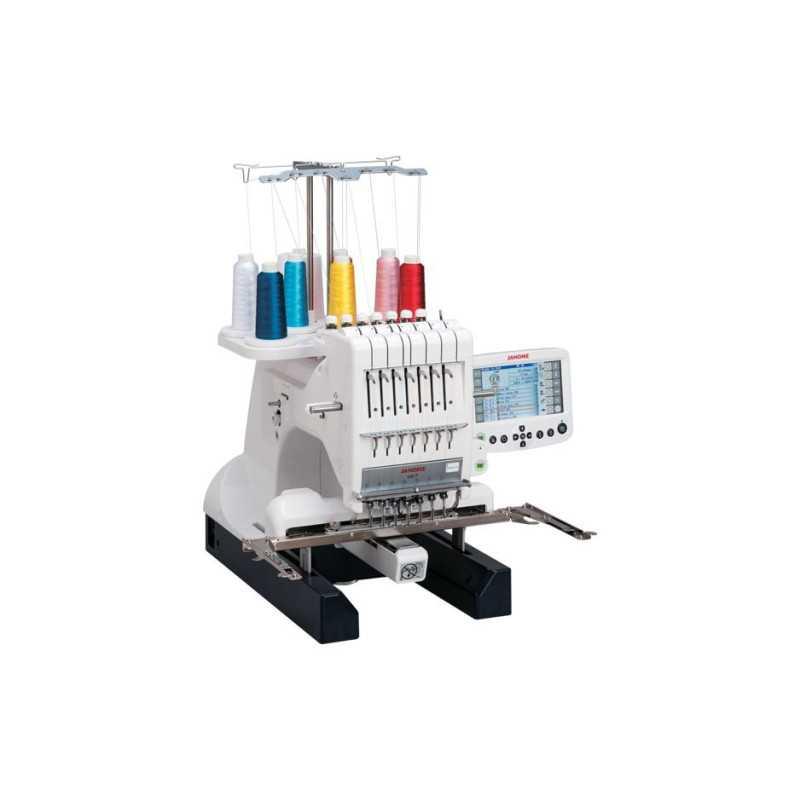 Usha Janome MB 7 Embroidery Machine ( 7 Needle)