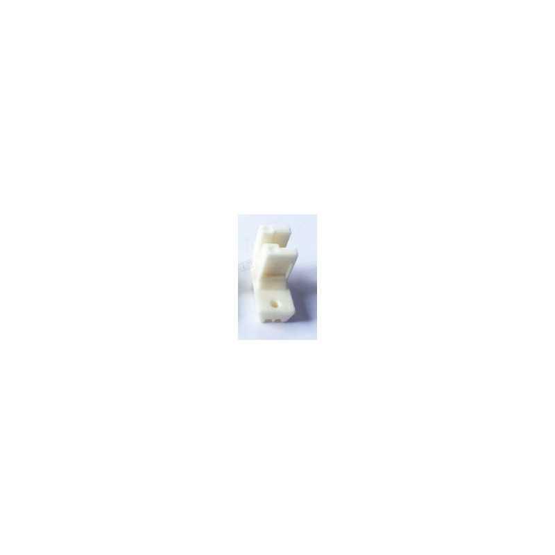 Bazar91 Plastic Industrial High Shank Invisible Zipper Presser Foot for Jack, Juki and Umbrella Model