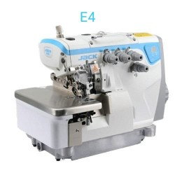 Automatic Jack E4-4 Threads Overlock Machine