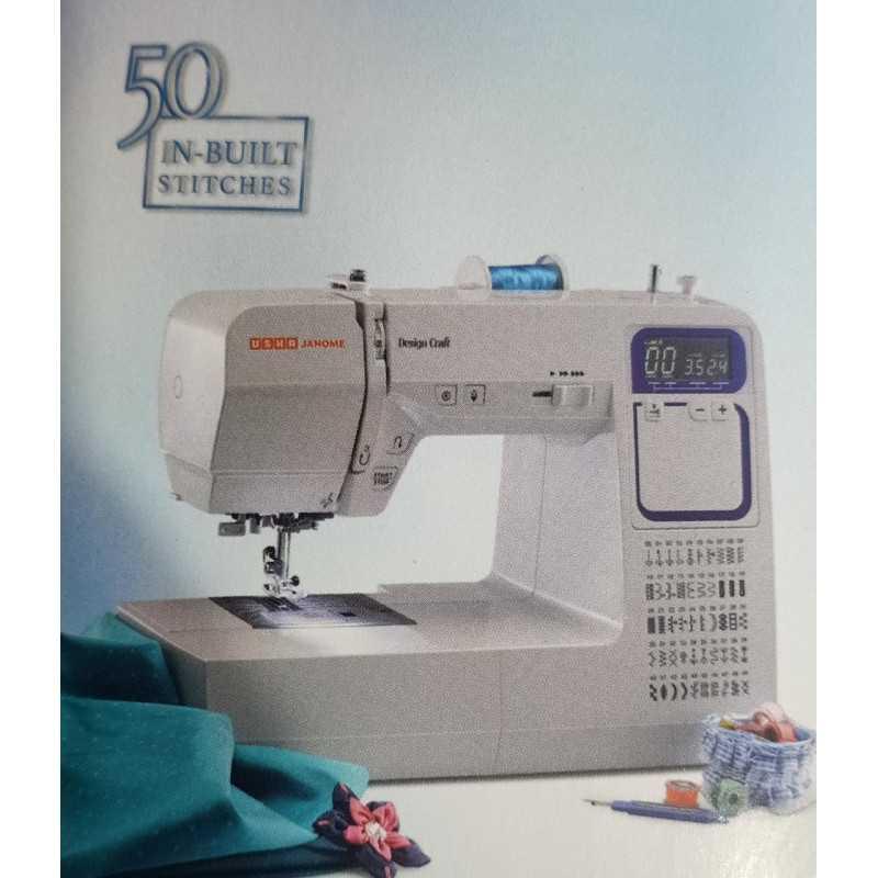 Usha Janome Design Craft Computerised Sewing Machine