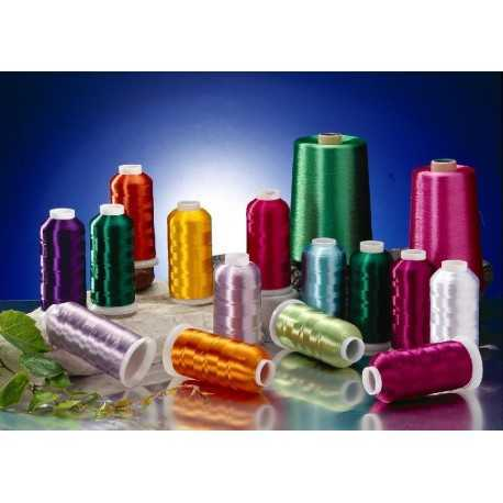 Branded Embroidery Thread Rill High Quality 50 Pices Mix Colur