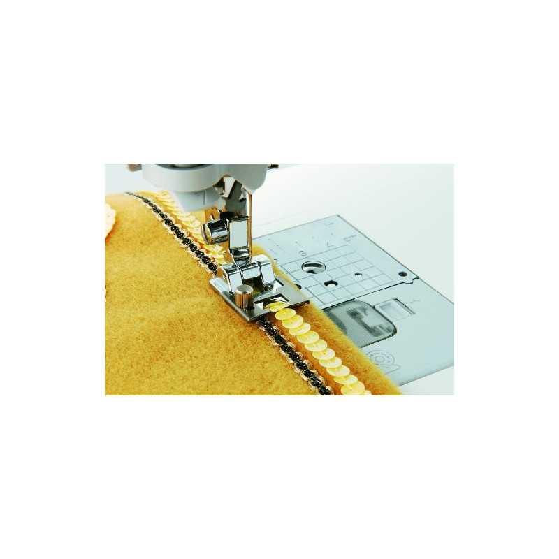 Braiding Presser Foot For ll automatic sewing machine (usha / brother / singer / juki / etc )