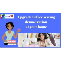 Upgrade Upto 12 Home Demo Only For Sewing Classes