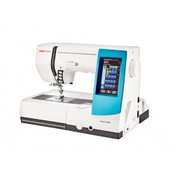 Usha Janome Memory Craft 9900 Embroidery Sewing Machine