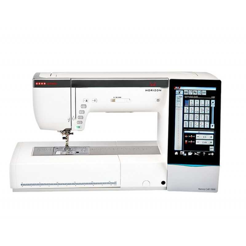 Janome Memory Craft P Table