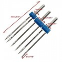 High quality 3Pcs/set sewing needle Double twin Needles