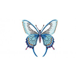 4X4 Butterfly Embroidery Design