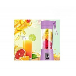 Multifunction 380ML Mini USB Electric Fruit Juicer CUP Rechargeable Smoothie Maker Blender Drink Bottle
