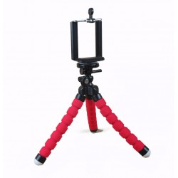 Mini Flexible Sponge Octopus Stand Tripod Mount For mobile( 6 inch)