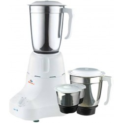Bajaj Majesty GX 7 500 W Mixer Grinder  (White, 3 Jars)